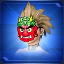 赤オニのおめん Red Oni Mask