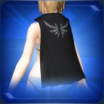ブラックショートマント Black Short Cloak
