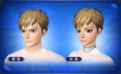 刈上げショートヘア Close-Cropped Short Hair