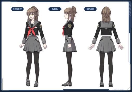 Nostalgic Student Uniform F
