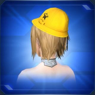 黄色通学帽 Yellow School Commute Cap