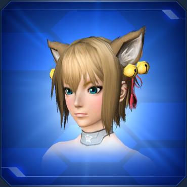 鈴付きネコ耳 Cat Ear Bells
