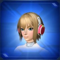 ミコルヘッドフォン 桃 Peach Micol Headphones