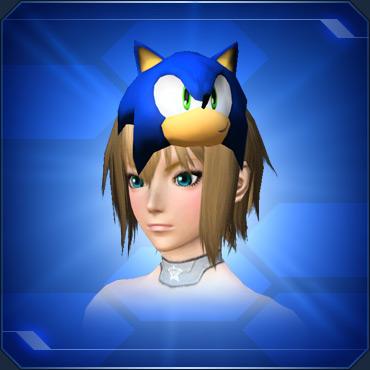 ソニックのおめんB Sonic Mask B