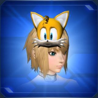 テイルスのおめんB Tails Mask B