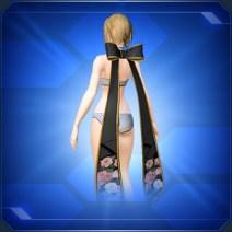ゲンショウリボン 黒Black Genshou Ribbon