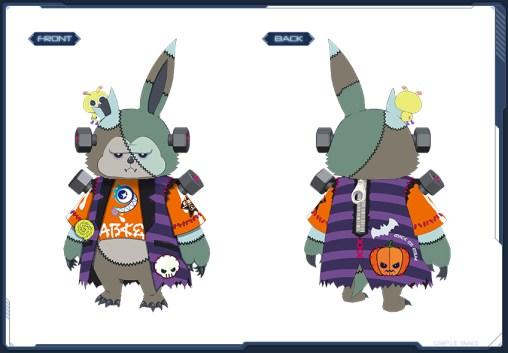 Horror Lillipa Suit