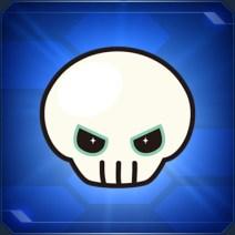 ドクロステッカー Skull Sticker