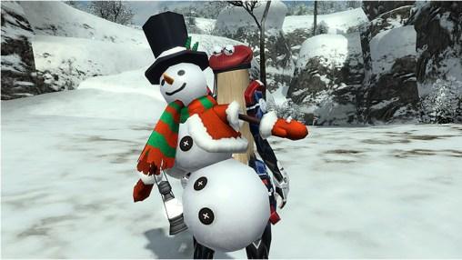 Snow Cannon Man
