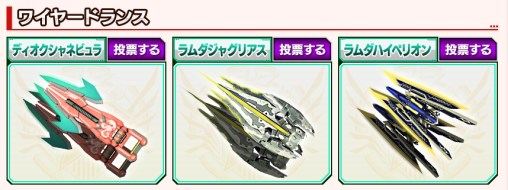 Vote Weapon Category