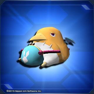 黄色いプリニーぬいぐるみ Yellow Prinny Plush Toy