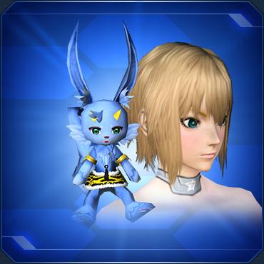 肩乗せ青鬼ニャウ Shoulder Riding Blue Oni Nyau