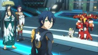 PSO2 Anime Itsuki Team