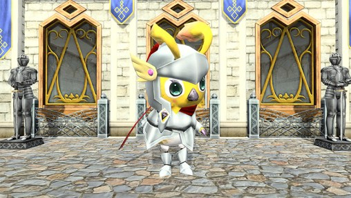 Knight Rappy Suit Costume