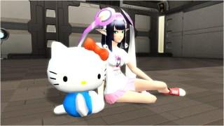 ハローキティぬいぐるみ Hello Kitty Stuffed Toy