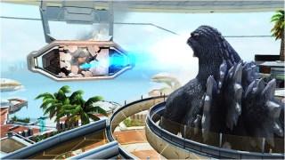 Godzilla Ray Destroy PSO2