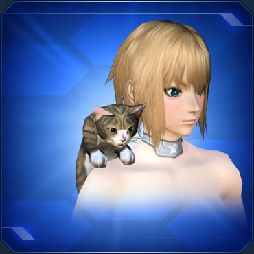 肩乗りキジネコShoulder Tabby Cat
