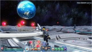 PSO2 Moon Balloon Collecting