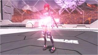 リア/シャインレッド (Rear / Shine Red)