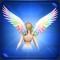 ビビッドウィング 虹 Rainbow Vivid Wings