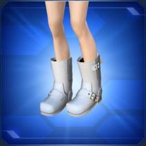 カジュアルブーツ 白 White Casual Boots
