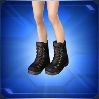 トレッキングブーツ 黒 Black Trekking Boots