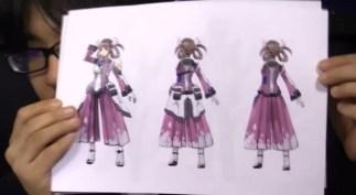 Izuna Costume Concept Art