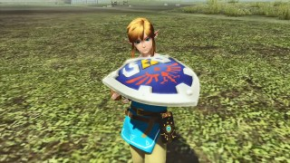 Hylian Shield in PSO2