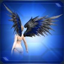 ダークネスウィング青 Blue Darkness Wings