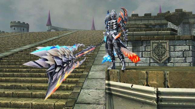 Monster Hunter Weapon Camo B
