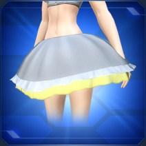 ふんわりスカート 黄 Fluffy Skirt Yellow