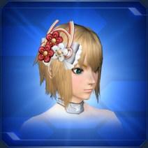 煌蝶春風髪飾りLustrous Hair Ornament