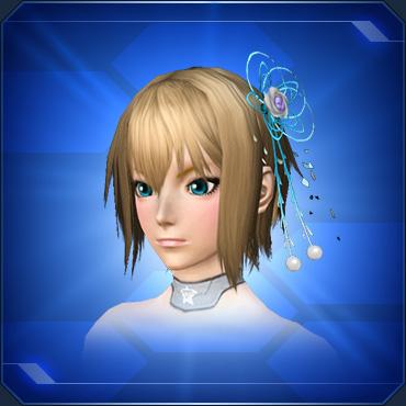 光糸のかんざし 水Light String Hairpin Aqua