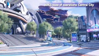 PSO2 NGS Town