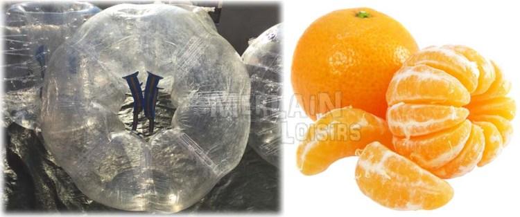 bumperball bubble vs orange