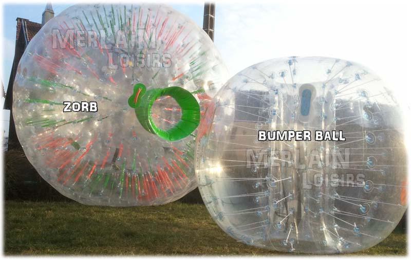 bumperball bubble vs zorb