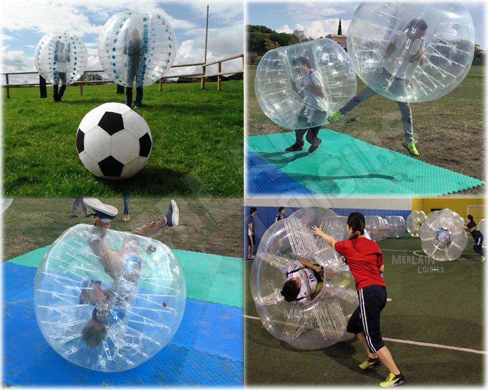 bubble foot, bubble sumo, bubble relais, bubble freestyle bumper ball