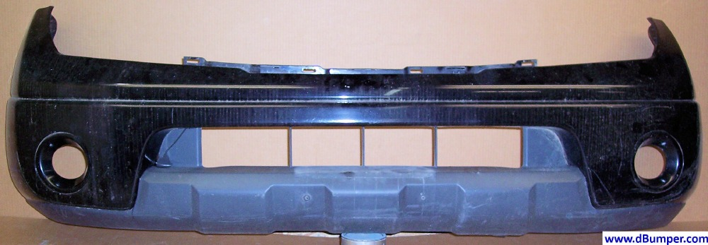 2005 2008 Nissan Frontier Pickup W Painted Bumper Front