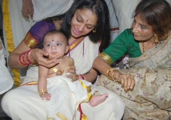 Sobhana-adopted-daughter