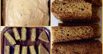 Mango cake using wheat flour