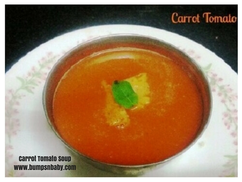 carrot tomato soup healthy soup recipe