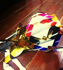 quick diwali paper lanterns