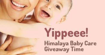 himalaya baby care giveaway in Bumps n Baby