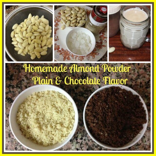 Homemade Almond Powder How To Make Almond Milk