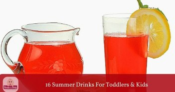 summer drinks for toddlers