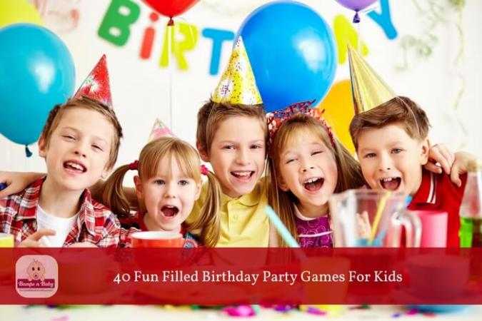 40 Mess Free Fun Filled Birthday Party Games For Kids 40 birthday party games for kids