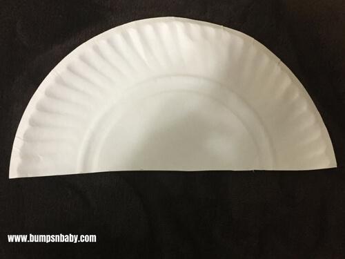 paper plate craft car