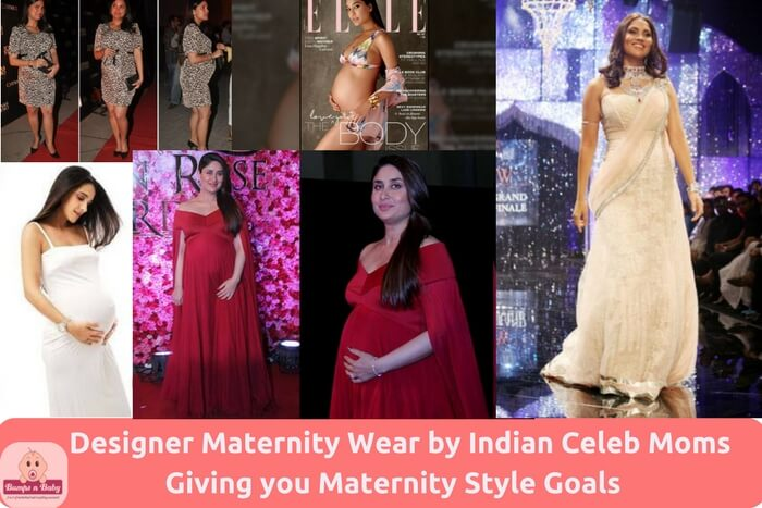 5aacdbc456 27 Designer Maternity Wear by Indian Celeb Moms Giving you Maternity Style  Goals