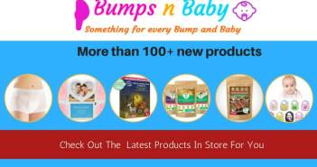 bumps n baby online store intro