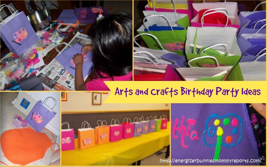 Crafts Birthday Party Themes For Girls This One Is A No Brainer Provide Kids With Craft Items Based On Their Age And Let Them Indulge In Some Artsy Crafty